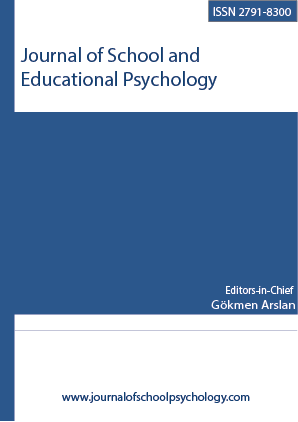 Journal of School and Educational Psychology